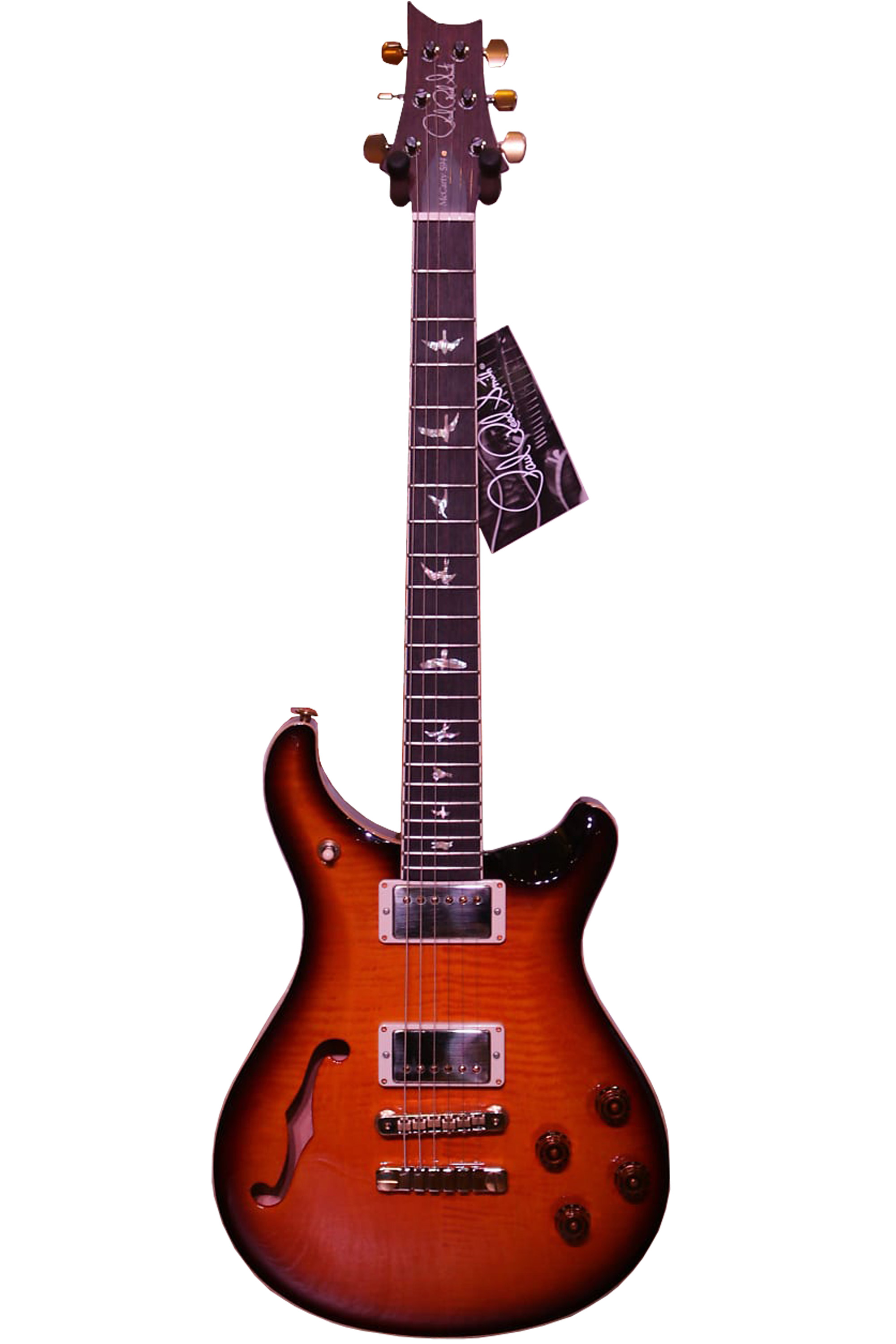 000000000.3 PRS Singlecut McCarty 594 Semi-Hollow Limited 2018 Tobacco Sunburst