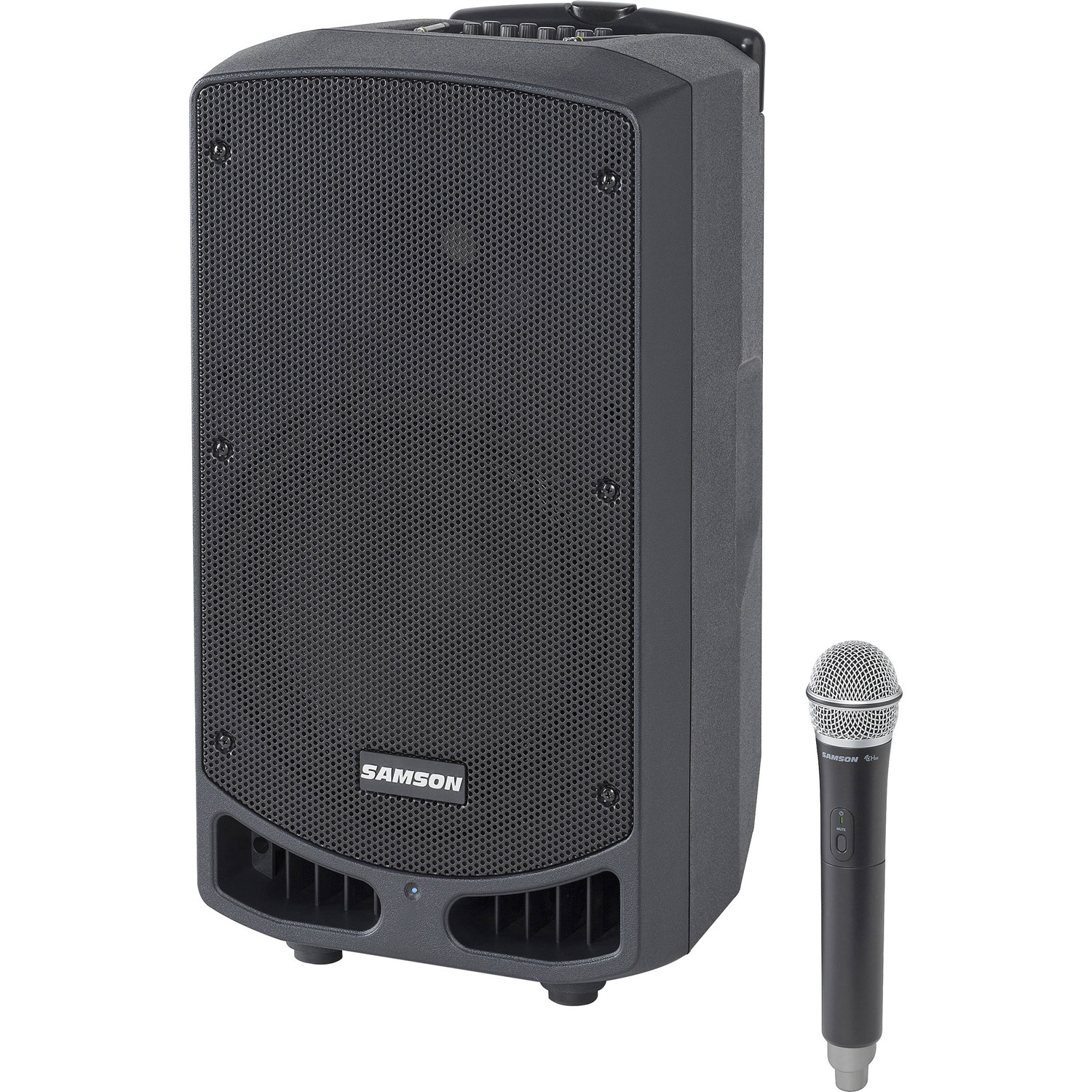 SAXP310W-D Rechargeable Portable PA with Handheld Wireless System and Bluetooth